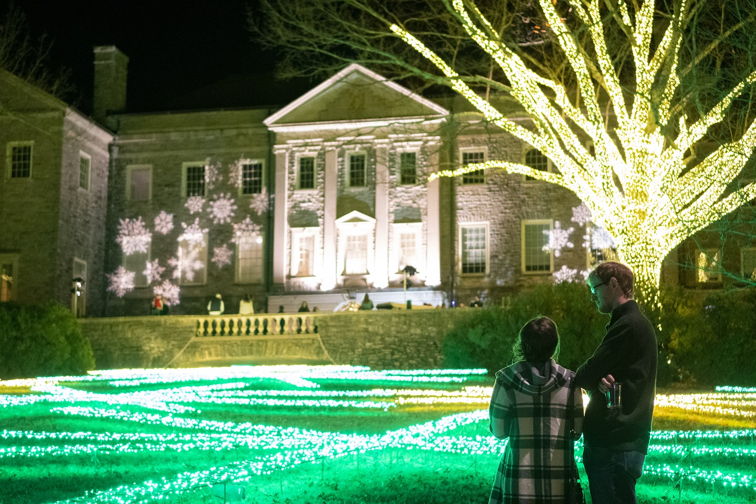 Cheekwood Holiday LIGHTS; Photo credit: Caitlin Harris