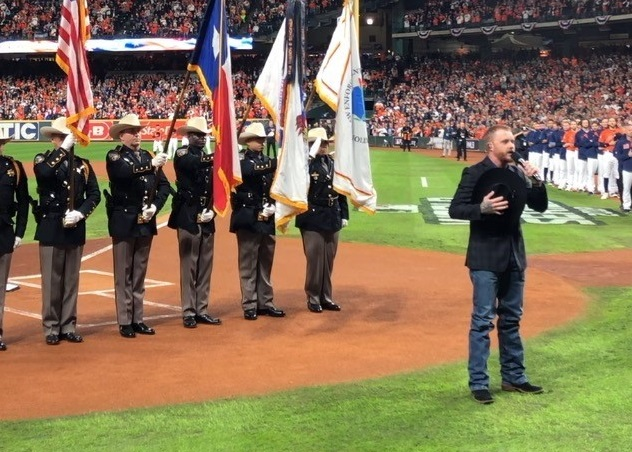 Watch Cody Johnson Sing National Anthem at Game 7 of the World Series