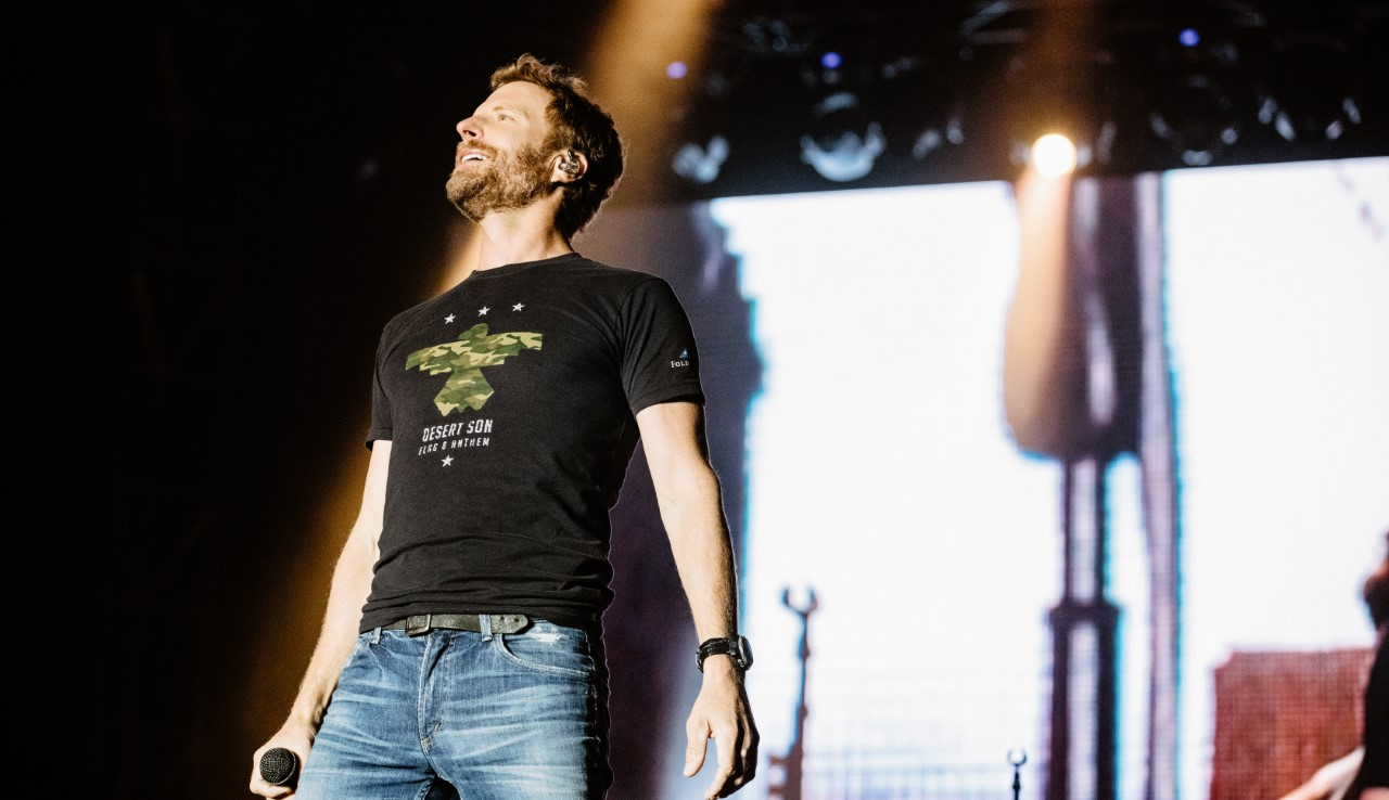 Dierks Bentley's Limited Edition T-Shirt Honors Veteran's Day