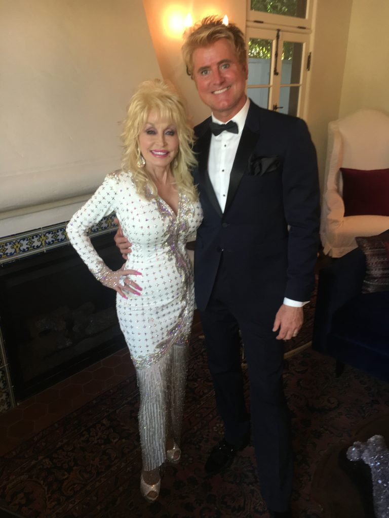 Dolly Parton and Steve Summers; Photo courtesy of Steve Summers