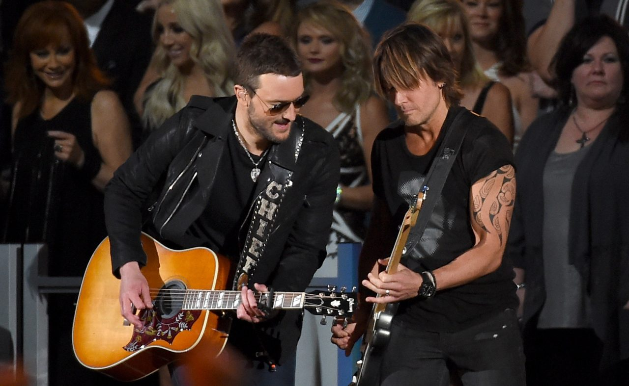 Eric Church and Keith Urban Team for New Version of 'We Were'