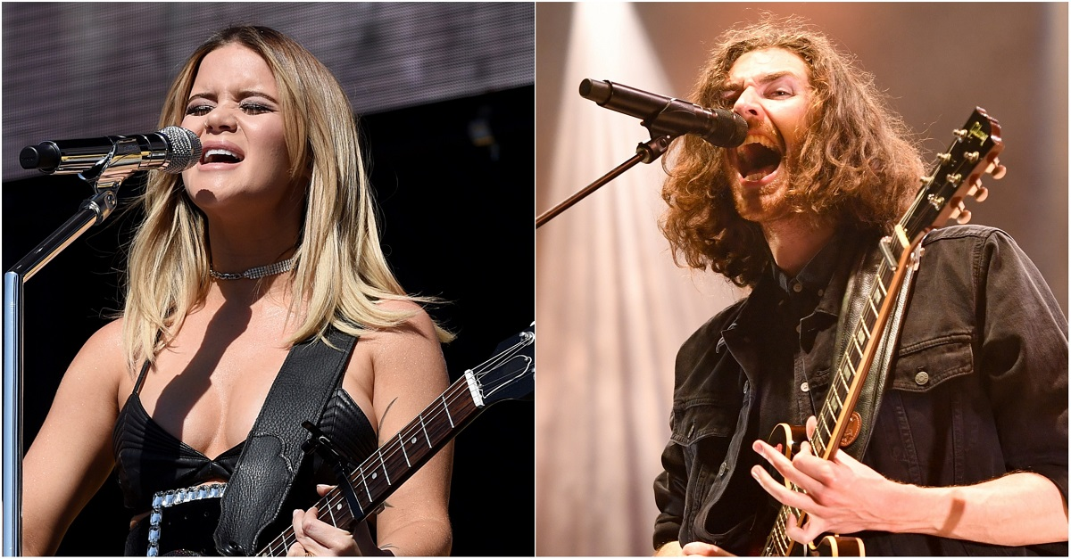 Maren Morris and Hozier Cross Harmonies on 'The Bones'