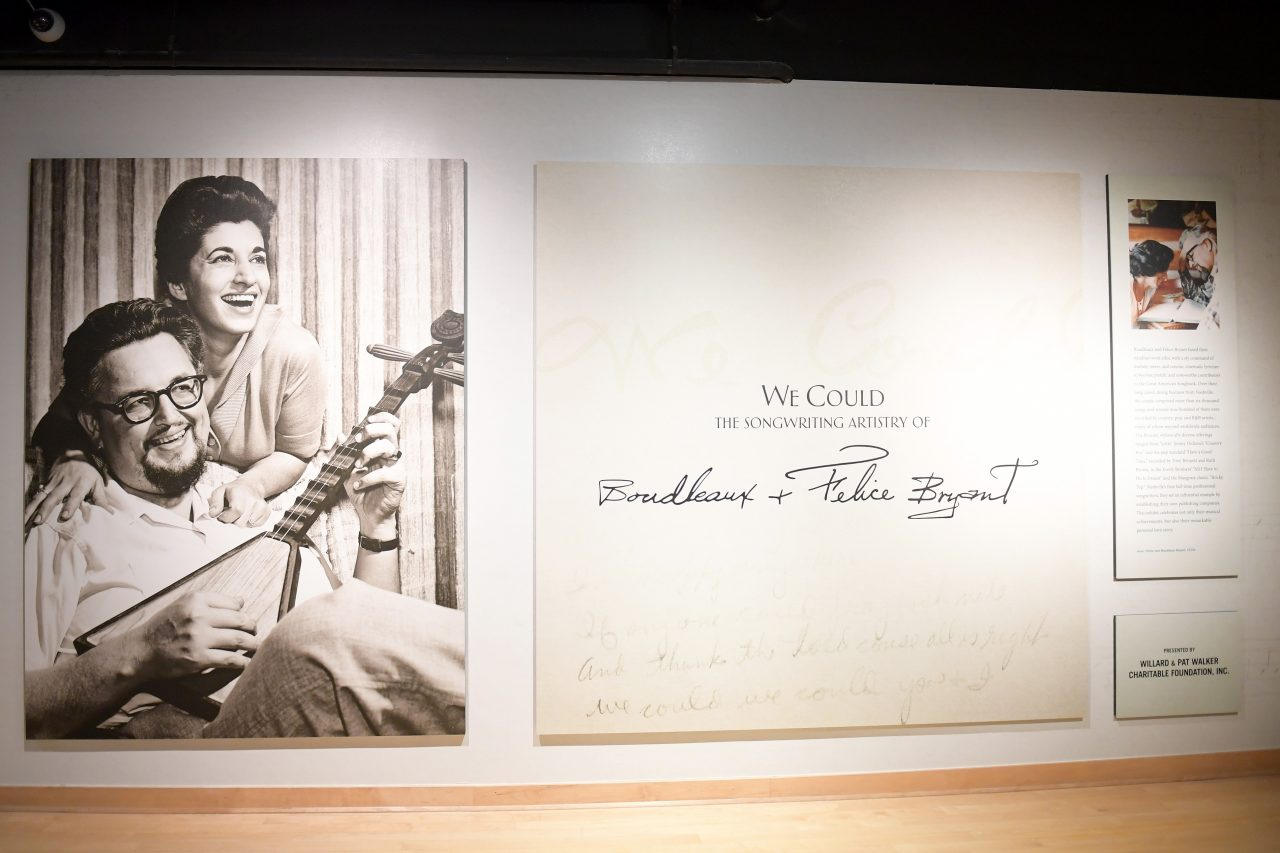 Stars Come Out to Celebrate New Country Music Hall of Fame Exhibit on Legendary Songwriters Felice and Boudleaux Bryant