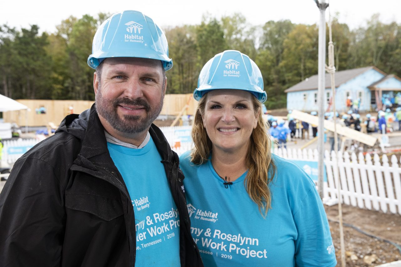 Garth Brooks and Trisha Yearwood Build 21 Homes in Nashville