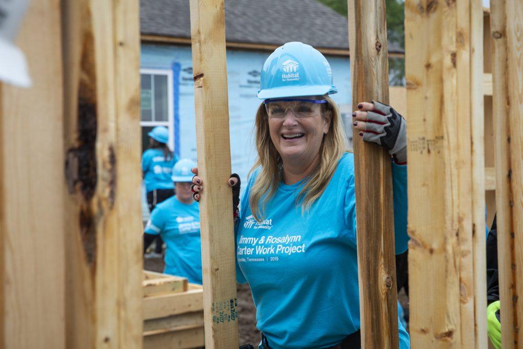 Trisha Yearwood; Photo courtesy of Habitat for Humanity