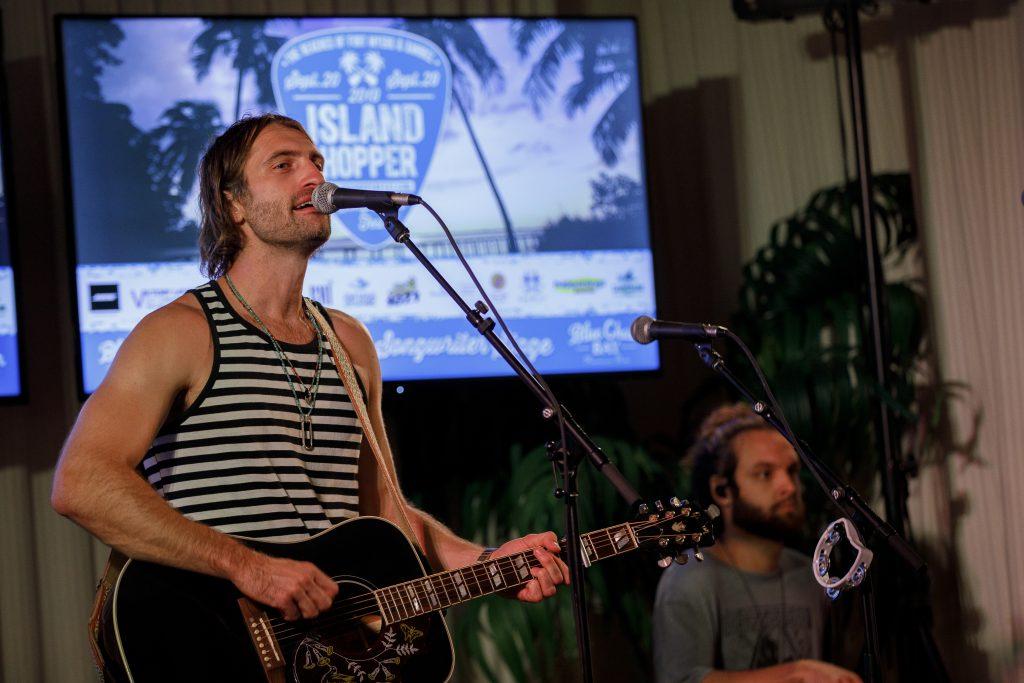 Ryan Hurd at the Island Hopper Songwriter Festival; Photo By Brian Tietz/Lee County CVB