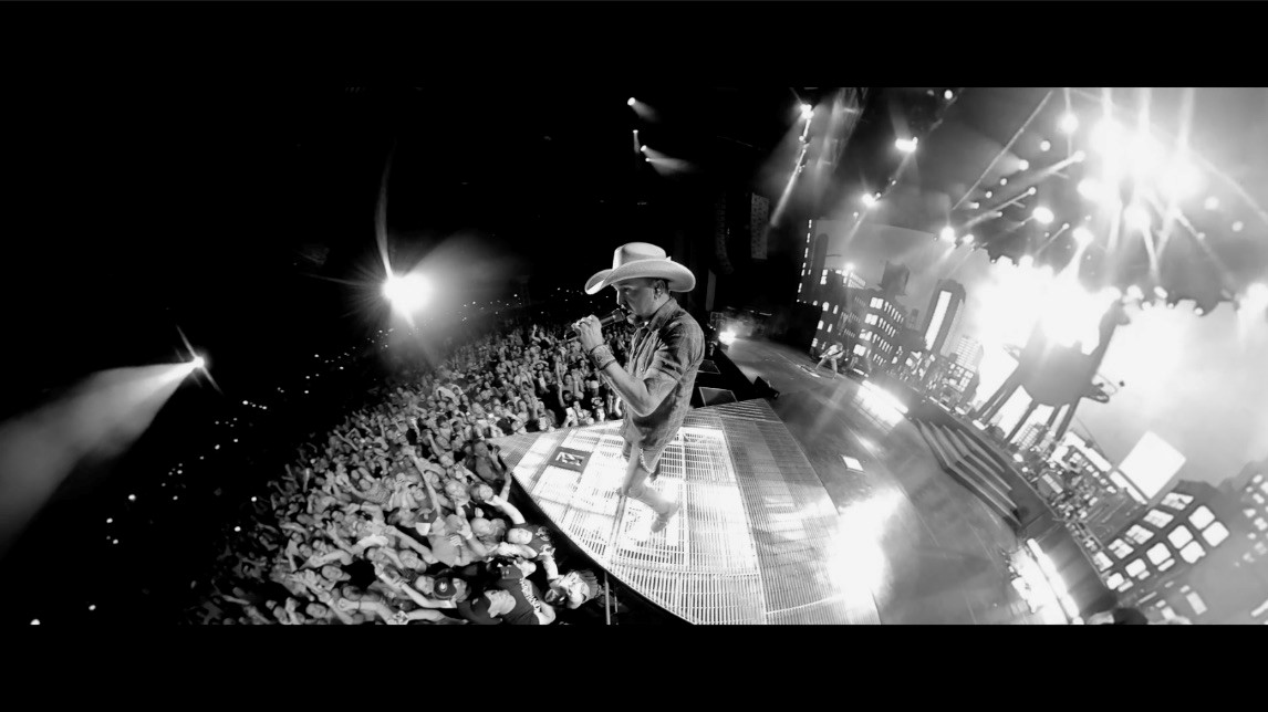 Jason Aldean Takes Fans on a Trippy Thrill Ride in 'We Back' Video