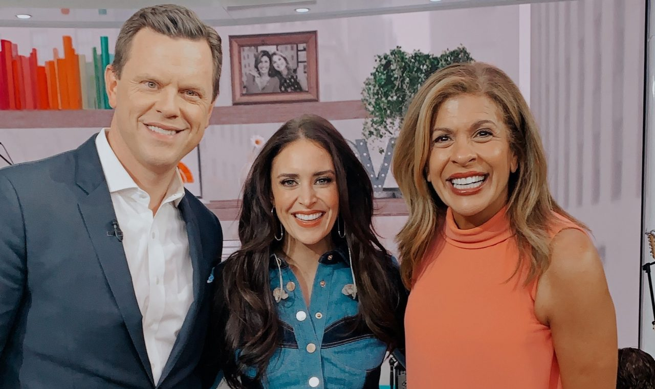 Kelleigh Bannen Makes National Television Debut on 'TODAY'