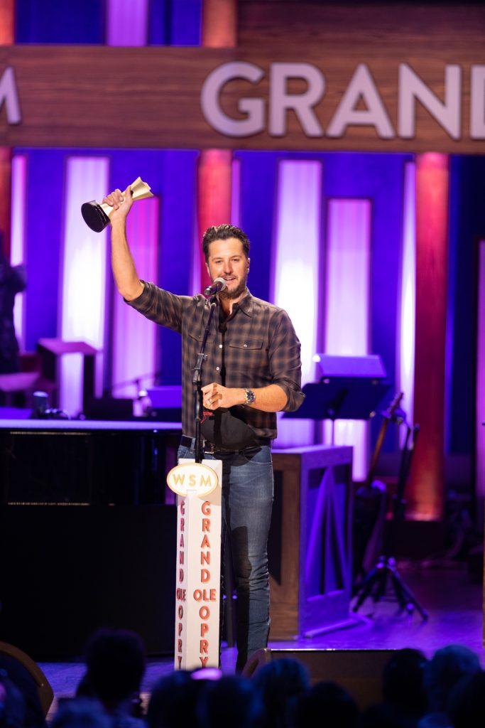 Luke Bryan; Photo credit: © Grand Ole Opry /Photos By: Chris Hollo