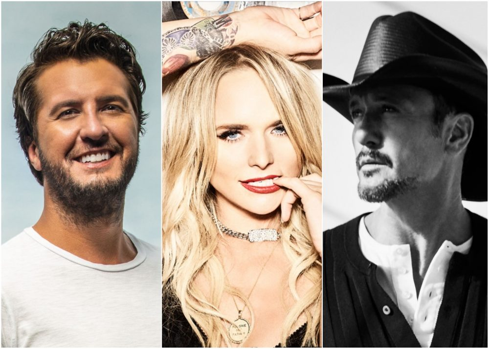 Luke Bryan, Miranda Lambert and Tim McGraw Tapped for 2020 Tortuga Music Festival