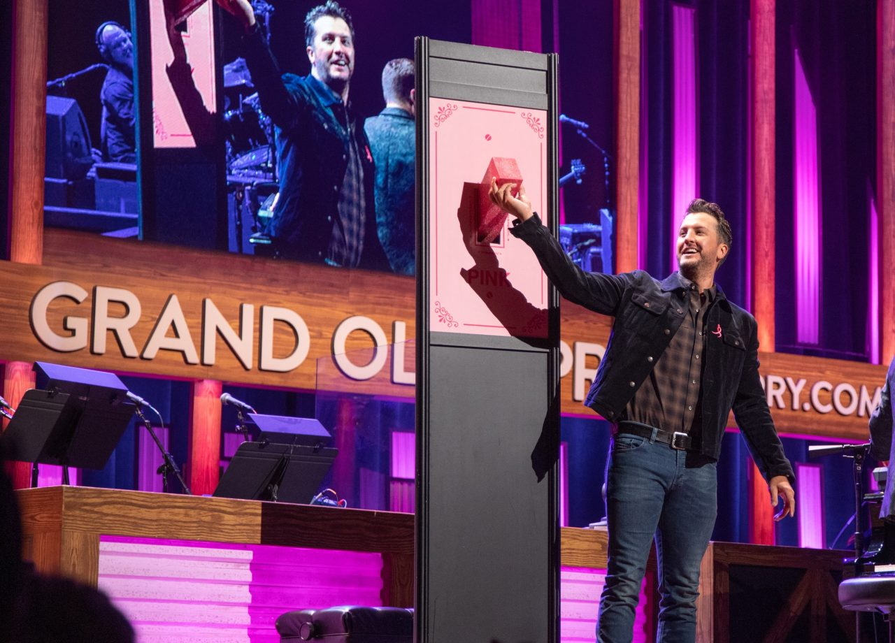 Luke Bryan Flips Switch for 11th Annual Opry Goes Pink