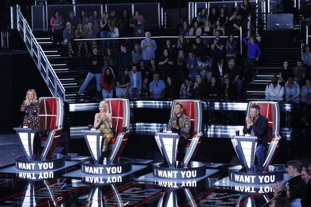 The Voice Recap: Blake Shelton Earns Four-Chair Turn Contestant Cali Wilson