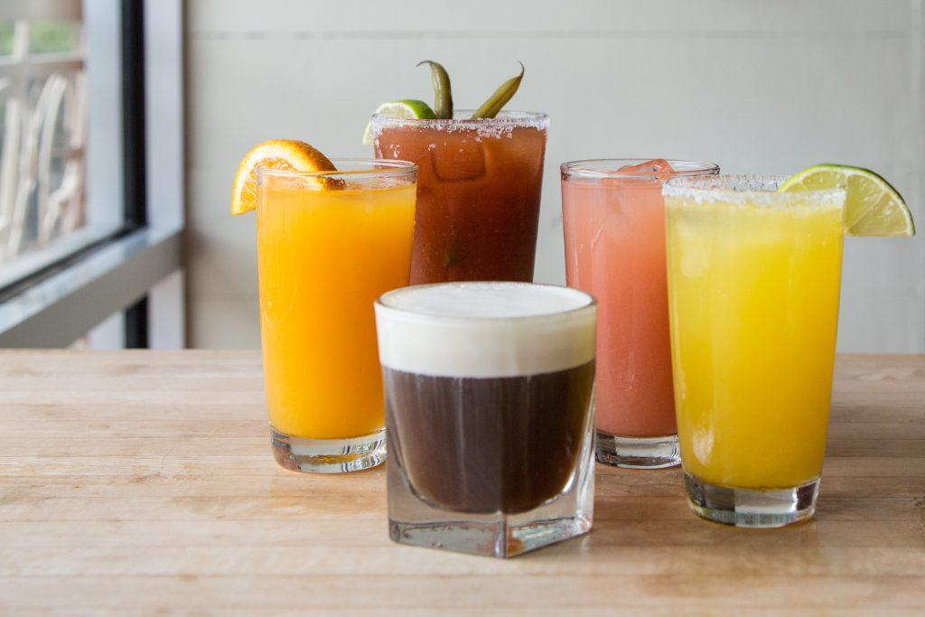 Big Bad Breakfast Cocktails; Photo courtesy of Big Bad Breakfast