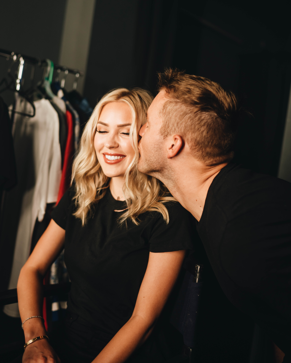 Cassie Randolph and Colton Underwood; photo by Jessica Steddom