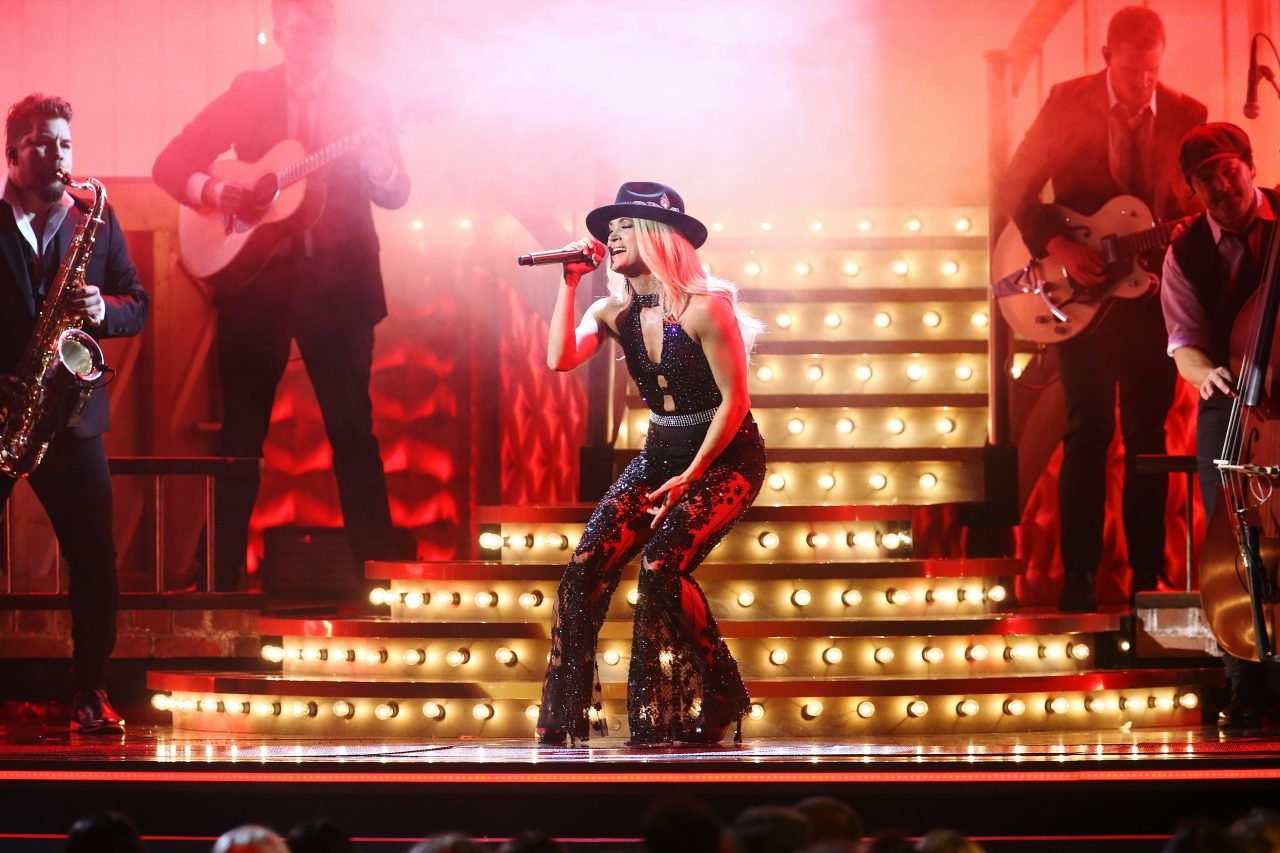 Carrie Underwood Stuns With 'Drinking Alone' at 2019 CMA Awards