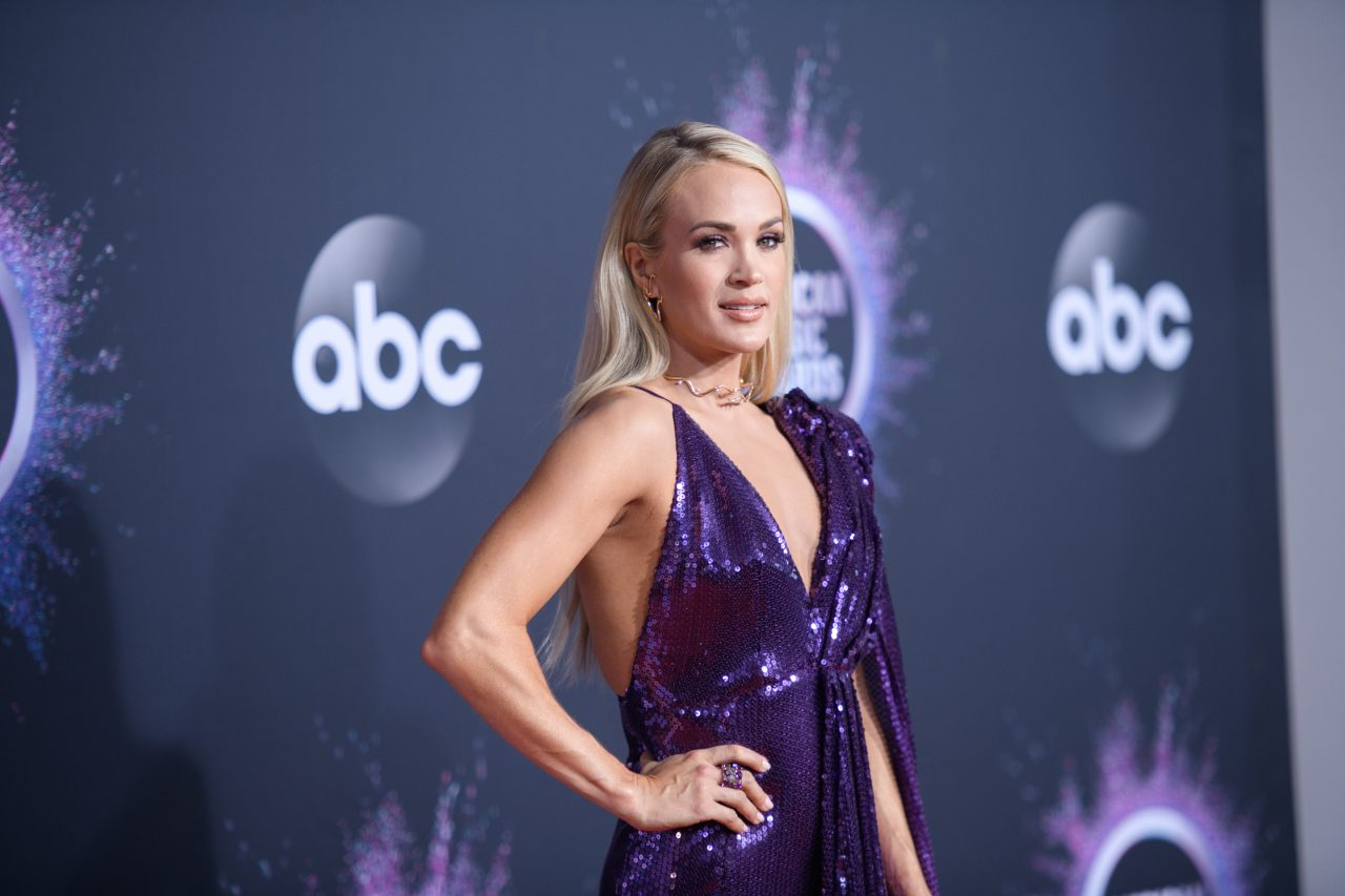 Carrie Underwood Receives First Copy of Her Book, 'Find Your Path'