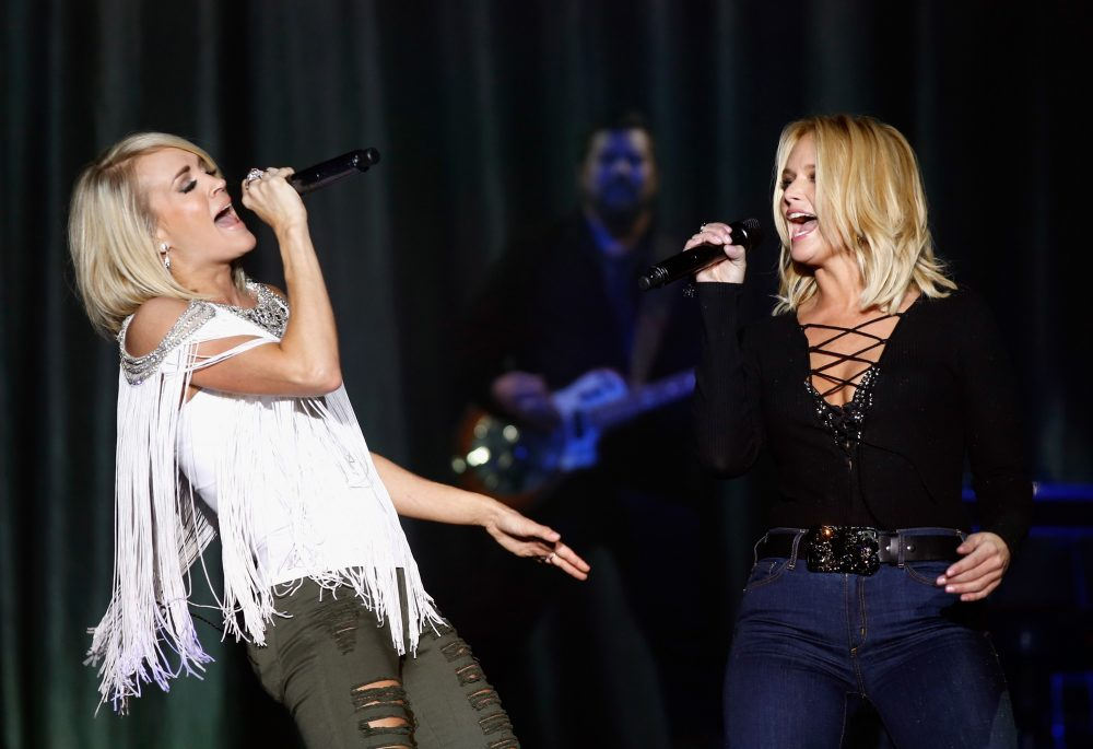 Carrie Undewood Cries Over Miranda Lambert's CMA Endorsement