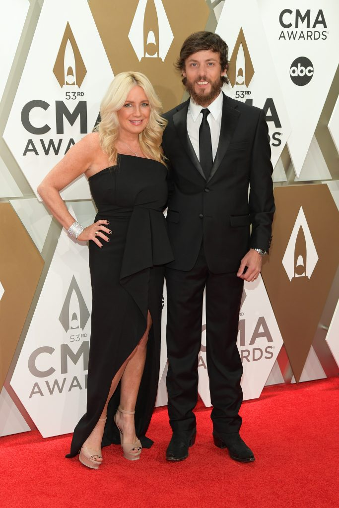 NASHVILLE, TENNESSEE - NOVEMBER 13: Kelly Lynn and Chris Janson attend the 53rd annual CMA Awards at the Music City Center on November 13, 2019 in Nashville, Tennessee. (Photo by Jason Kempin/Getty Images)