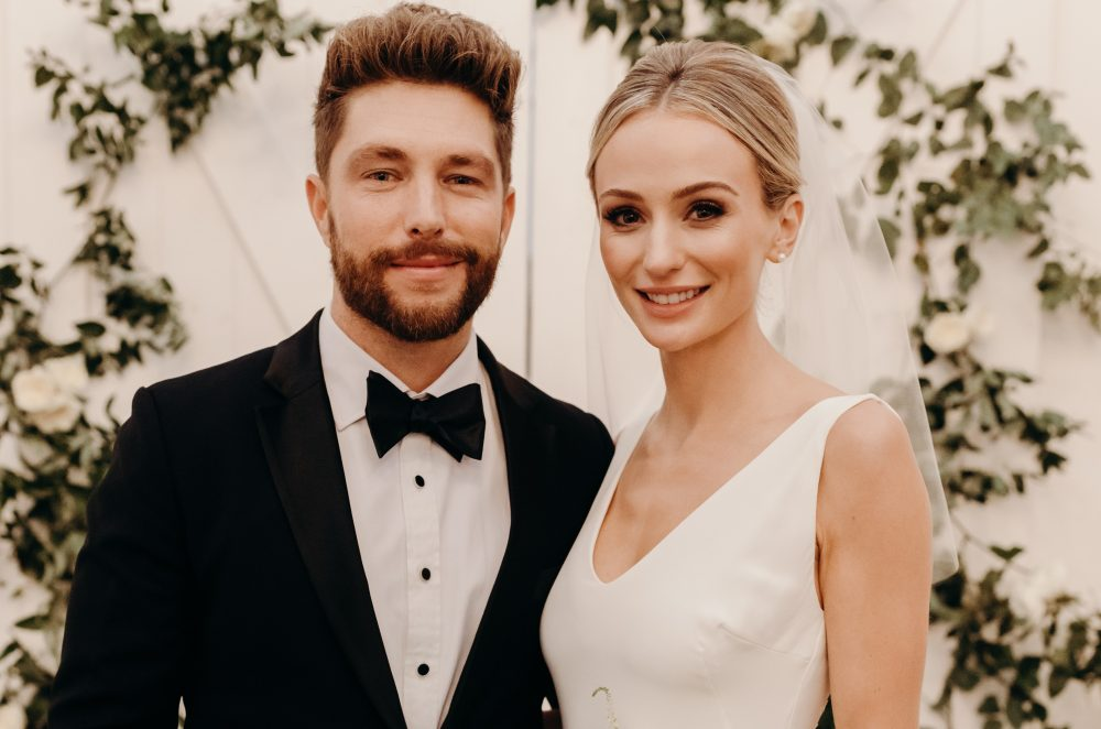 Chris Lane Cuts the Cake in 'Big, Big Plans' Wedding Video