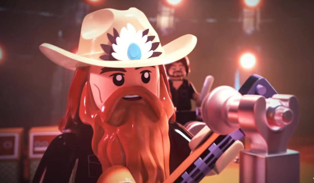Chris Stapleton Gets Lego-Animated in 'Second One to Know' Video