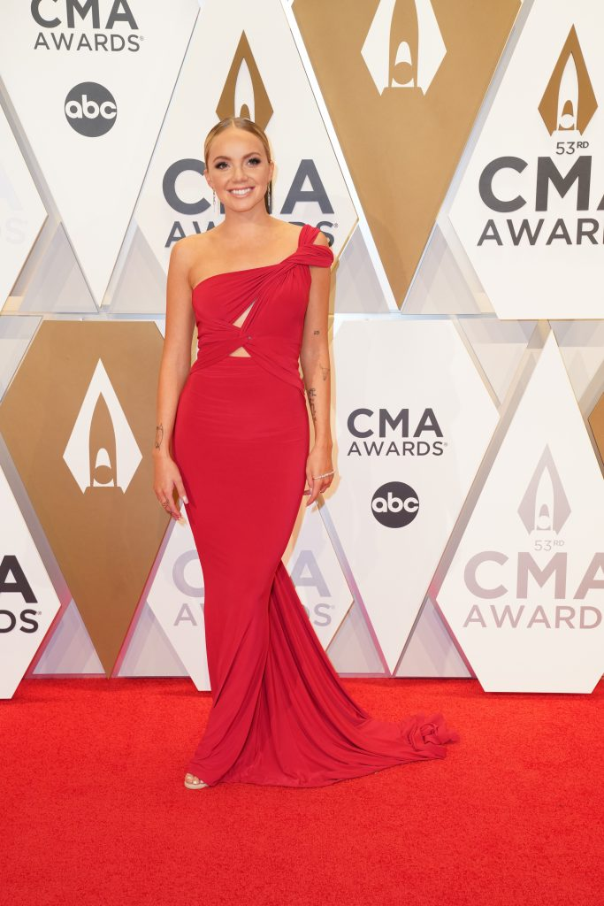 "Danielle Bradbery on the Red Carpet at ""The 53rdAnnual CMA Awards,"" on Wednesday, November 13, 2019 at Bridgestone Arena in Downtown Nashville; Photo courtesy of CMA"