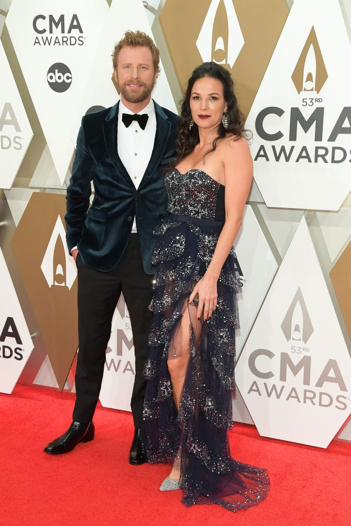 NASHVILLE, TENNESSEE - NOVEMBER 13: Dierks Bentley and Cassidy Black attend the 53rd annual CMA Awards at the Music City Center on November 13, 2019 in Nashville, Tennessee. (Photo by Jason Kempin/Getty Images)