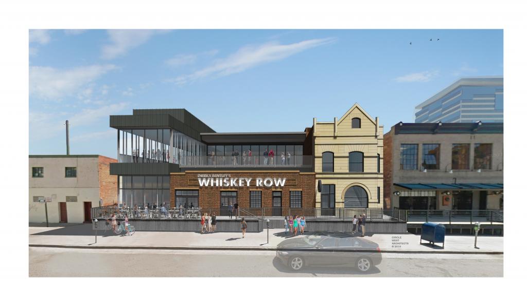 Dierks Bentley's Whiskey Row Denver; Rendering courtesy of The GreenRoom