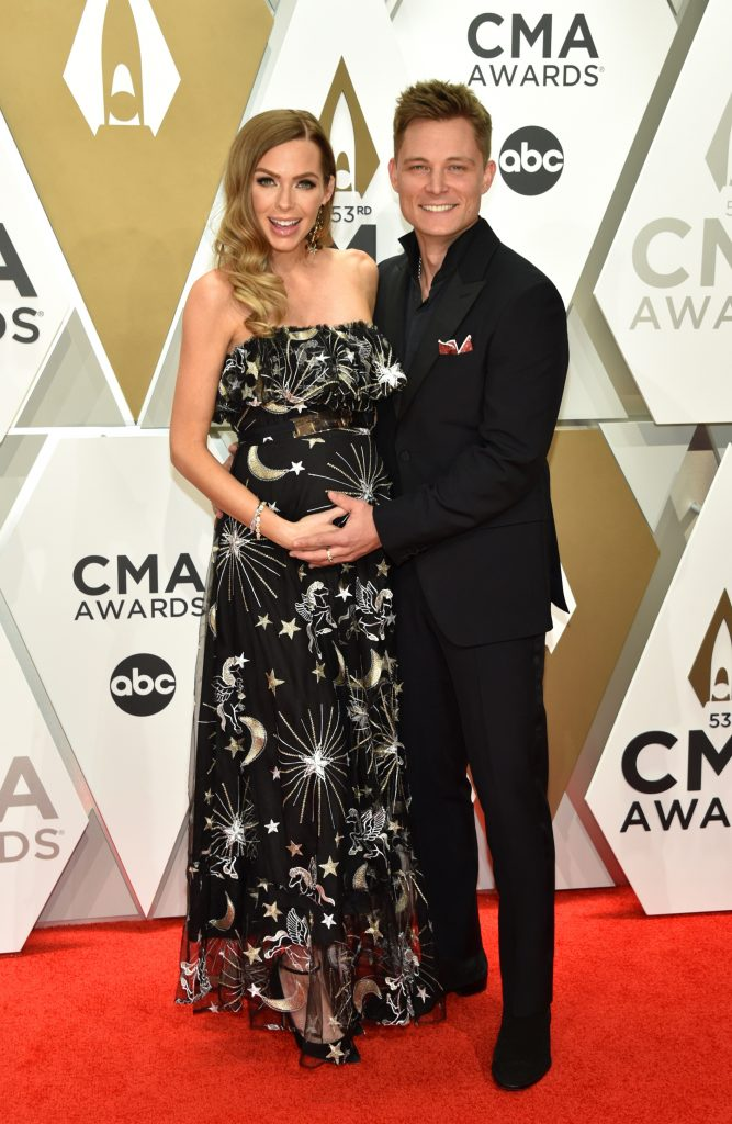 NASHVILLE, TENNESSEE - NOVEMBER 13: Christina Murphy and Frankie Ballard attend the 53rd annual CMA Awards at the Music City Center on November 13, 2019 in Nashville, Tennessee. (Photo by John Shearer/WireImage,)