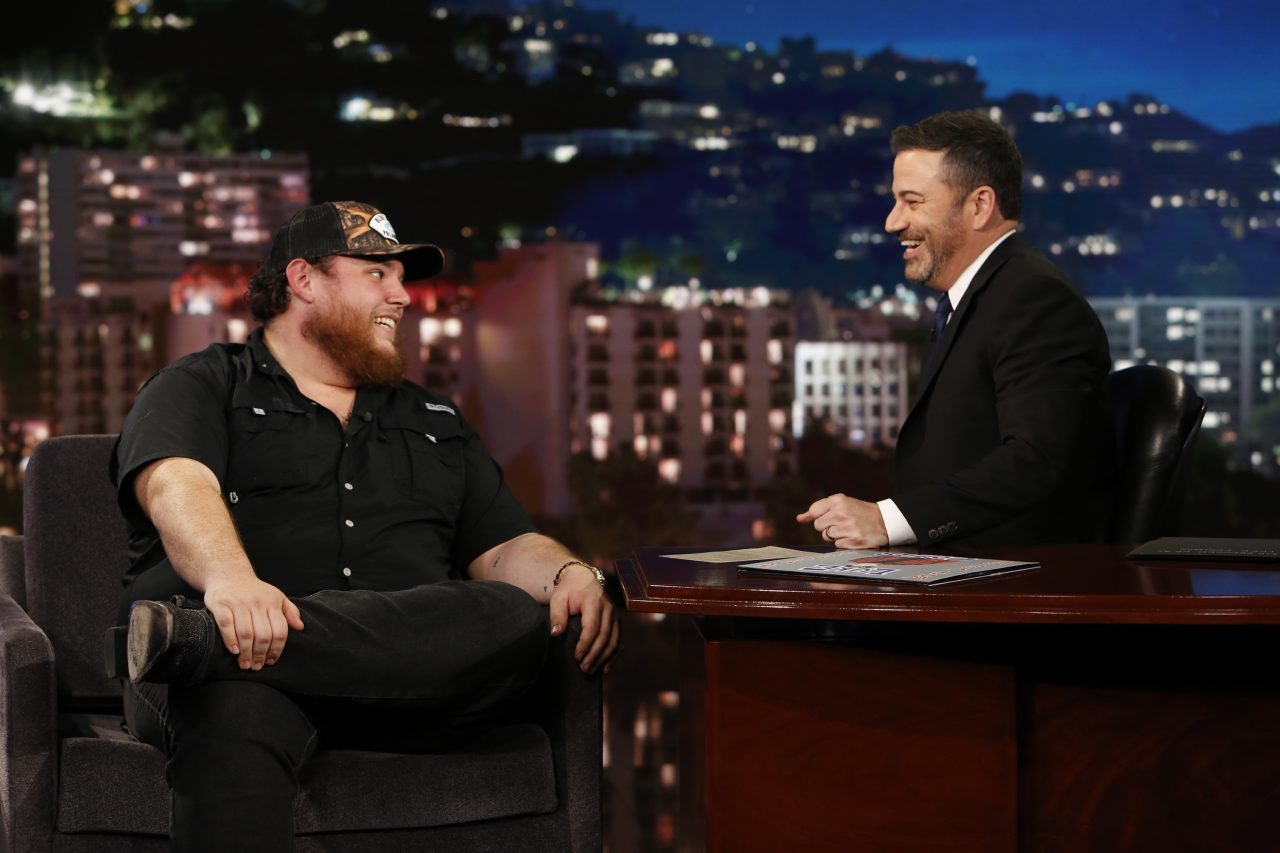 Luke Combs Reveals His Detective Dreams on 'Jimmy Kimmel Live!'