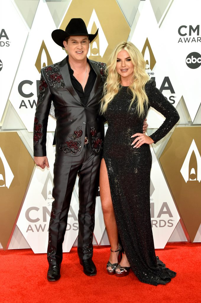 NASHVILLE, TENNESSEE - NOVEMBER 13: Jon Pardi and Summer Duncan attend the 53rd annual CMA Awards at the Music City Center on November 13, 2019 in Nashville, Tennessee. (Photo by John Shearer/WireImage,)