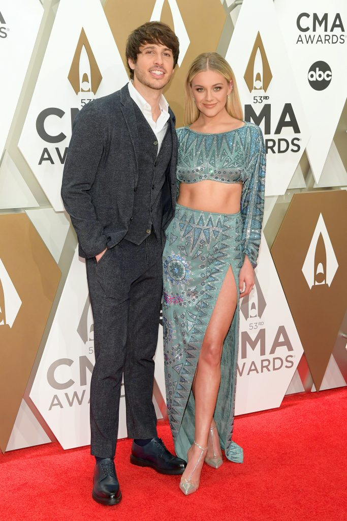 NASHVILLE, TENNESSEE - NOVEMBER 13: Morgan Evans and Kelsea Ballerini attend the 53rd annual CMA Awards at the Music City Center on November 13, 2019 in Nashville, Tennessee. (Photo by Jason Kempin/Getty Images)