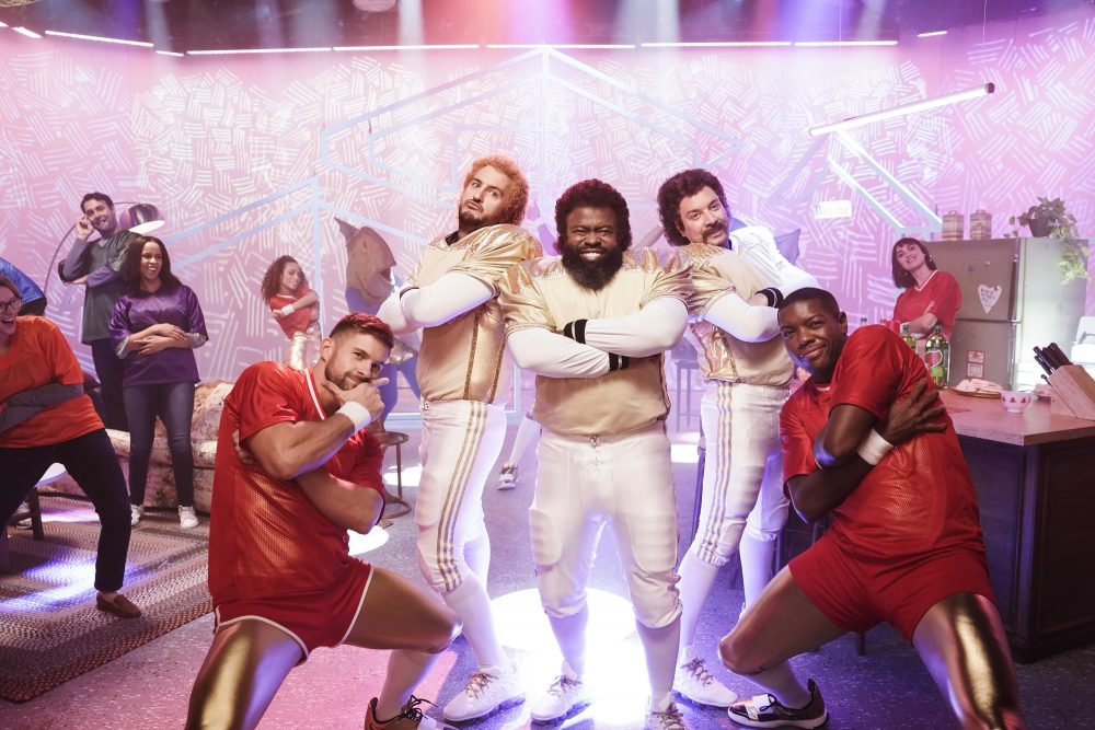 Luke Bryan and Jimmy Fallon Squad Up as the Football 'Party Patrol'