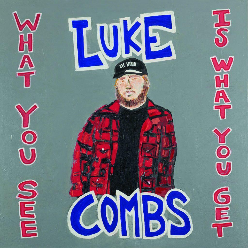 Luke Combs; Cover art courtesy of Sacks & Co.