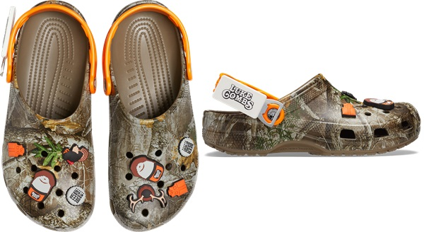Luke Combs X Crocs Classic Realtree Clog; Photo courtesy of FleishmanHillard