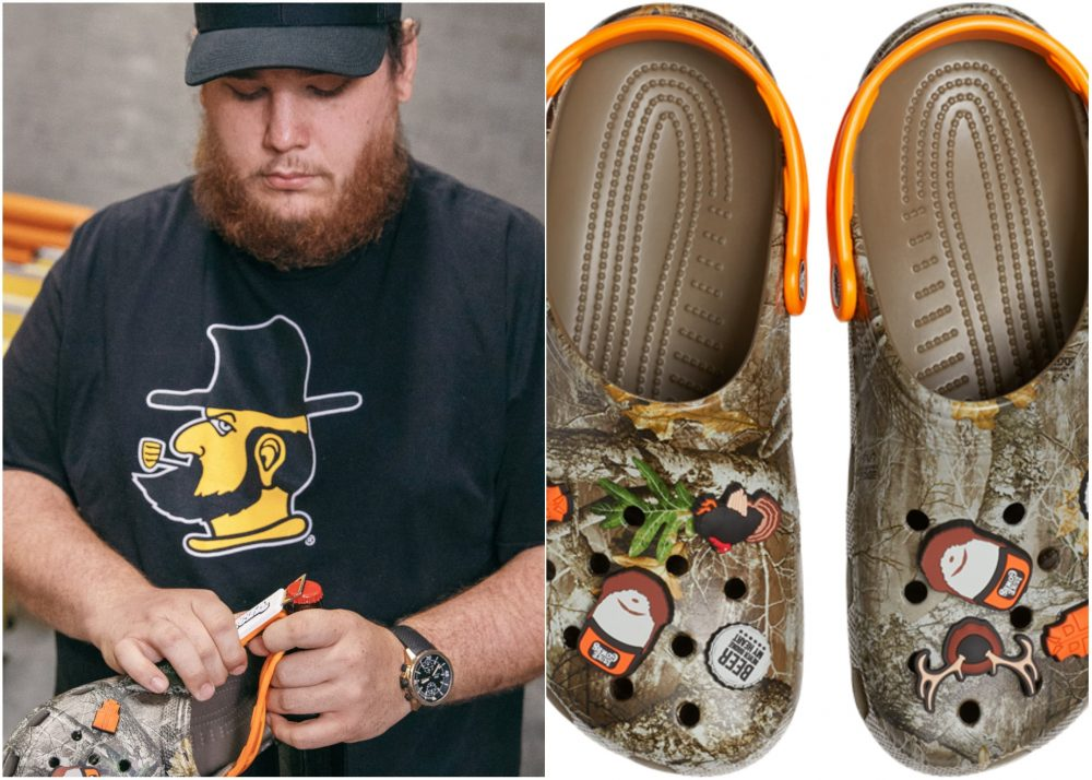 Enter for a Chance to Win a Pair of Luke Combs X Crocs Classic Realtree Clog