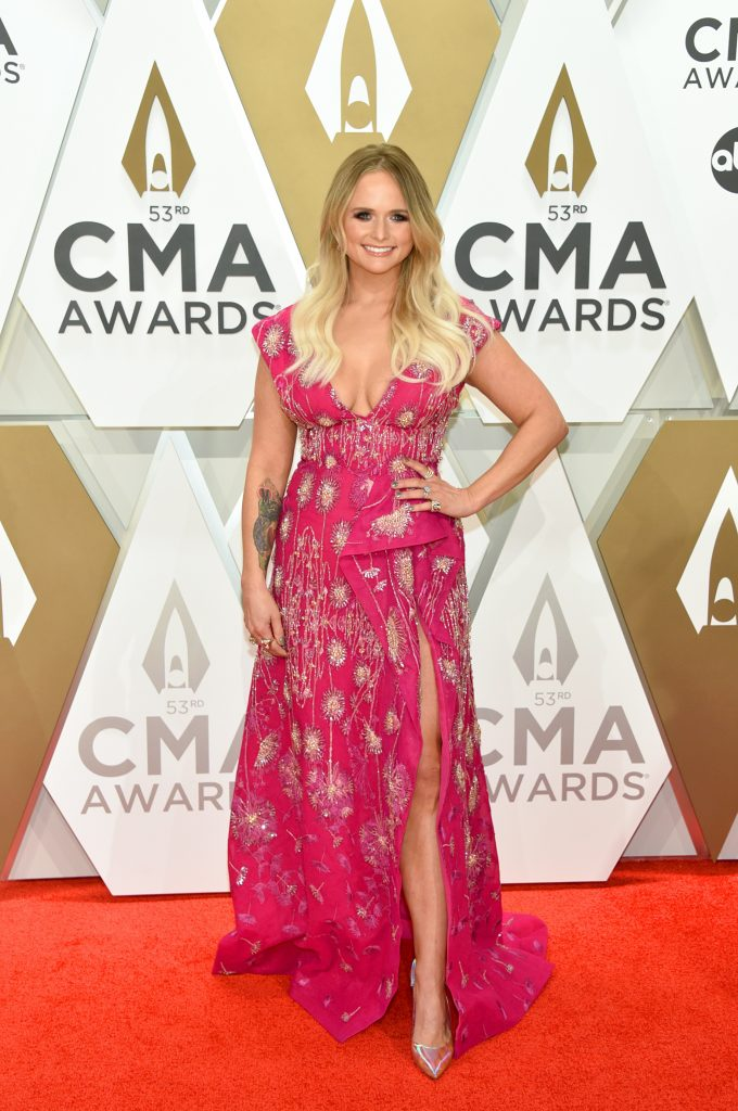 NASHVILLE, TENNESSEE - NOVEMBER 13: Miranda Lambert attends the 53rd annual CMA Awards at the Music City Center on November 13, 2019 in Nashville, Tennessee. (Photo by John Shearer/WireImage,)