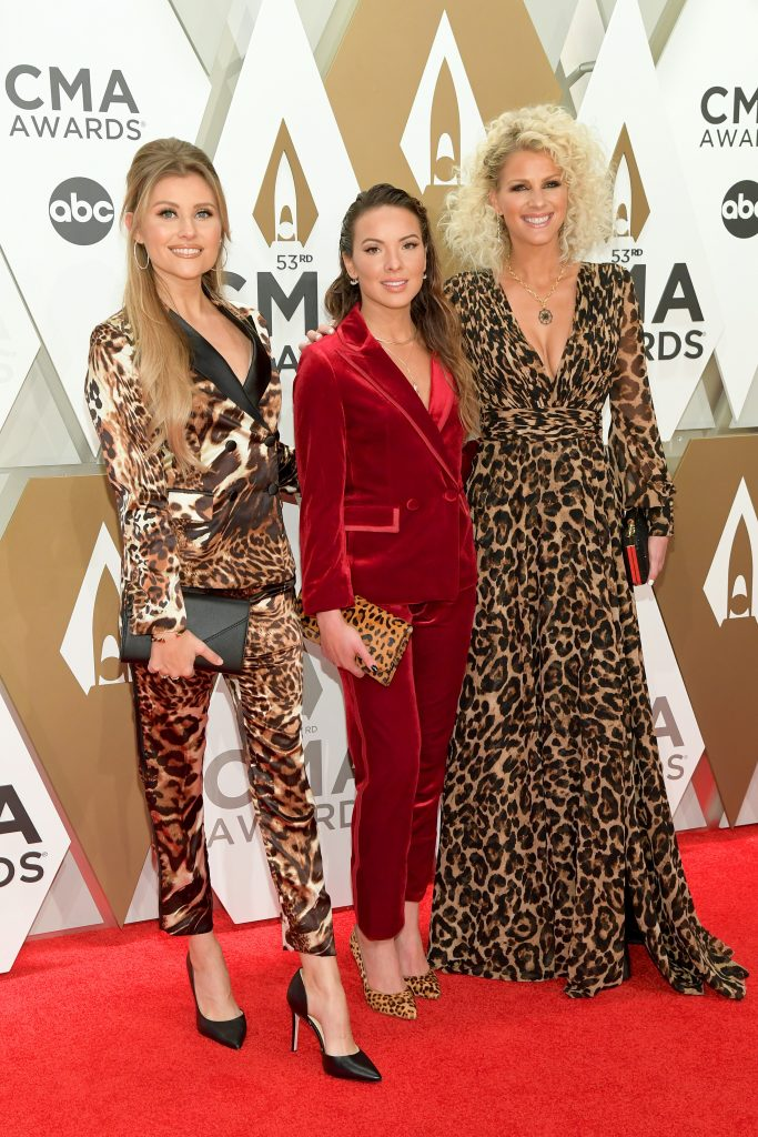 NASHVILLE, TENNESSEE - NOVEMBER 13: Naomi Cooke and Jennifer Wayne of Runaway June attend the 53rd annual CMA Awards at the Music City Center on November 13, 2019 in Nashville, Tennessee. (Photo by Jason Kempin/Getty Images)