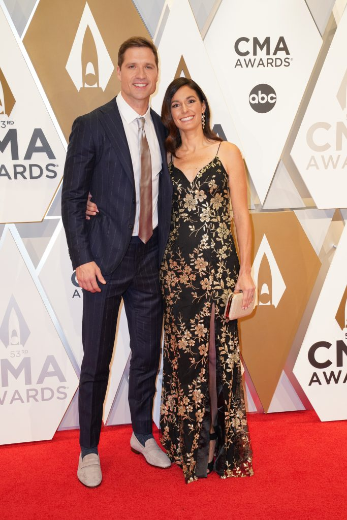 """Walker Hayes on the Red Carpet at """"The 53rdAnnual CMA Awards,"""" on Wednesday, November 13, 2019 at Bridgestone Arena in Downtown Nashville; Photo courtesy of CMA"""