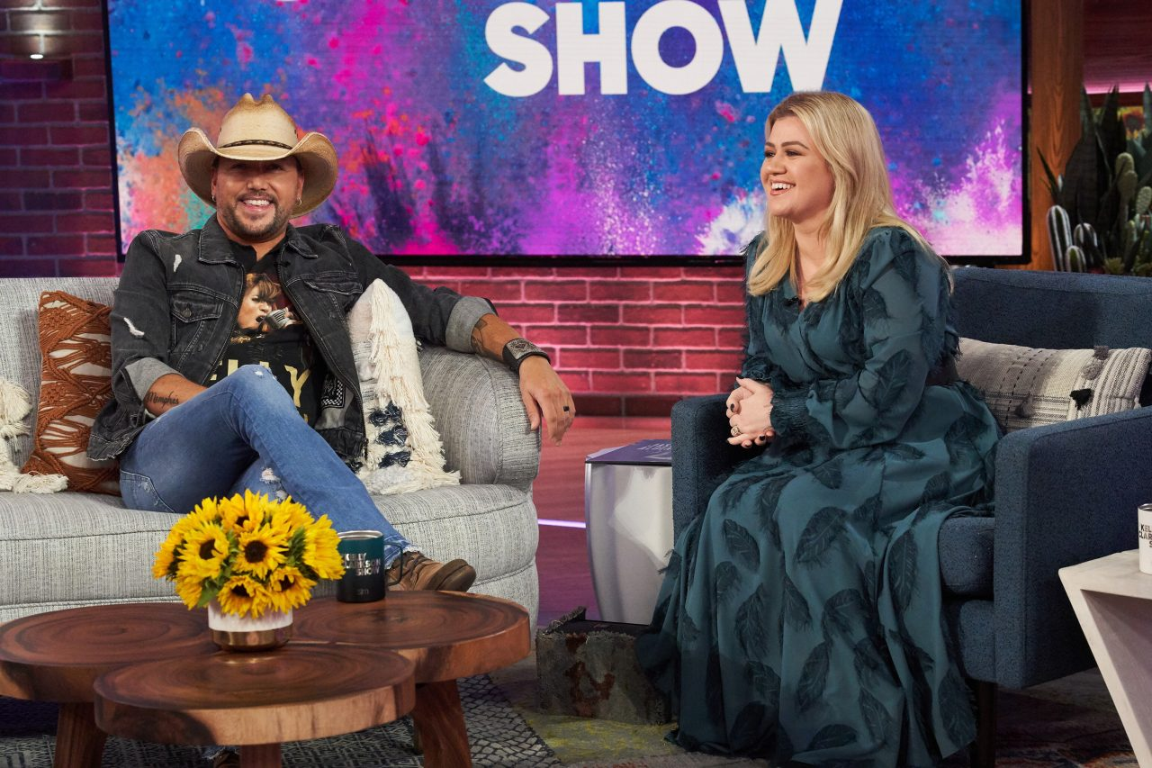 Jason Aldean Opens Up On 'Kelly Clarkson Show' About Vegas, Family
