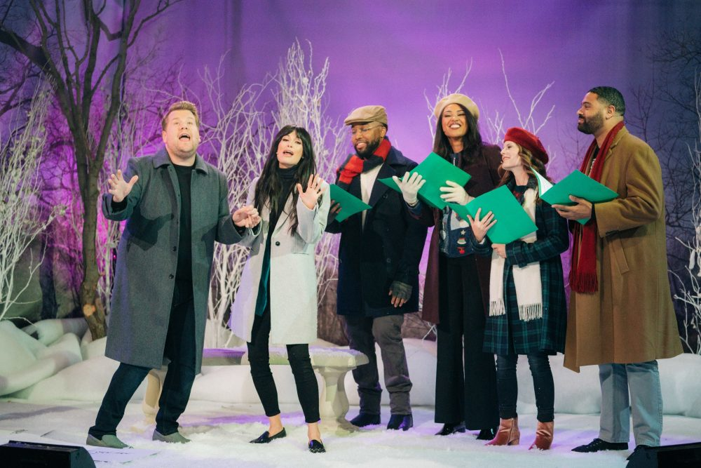 See Kacey Musgraves and James Corden's Christmas Rom-Com