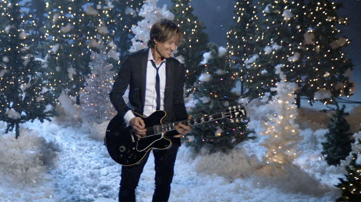 Keith Urban Saves Christmas in 'I'll Be Your Santa Tonight' Video