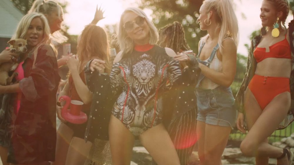 RaeLynn Lets It All Hang Out in Carefree 'Bra Off' Video