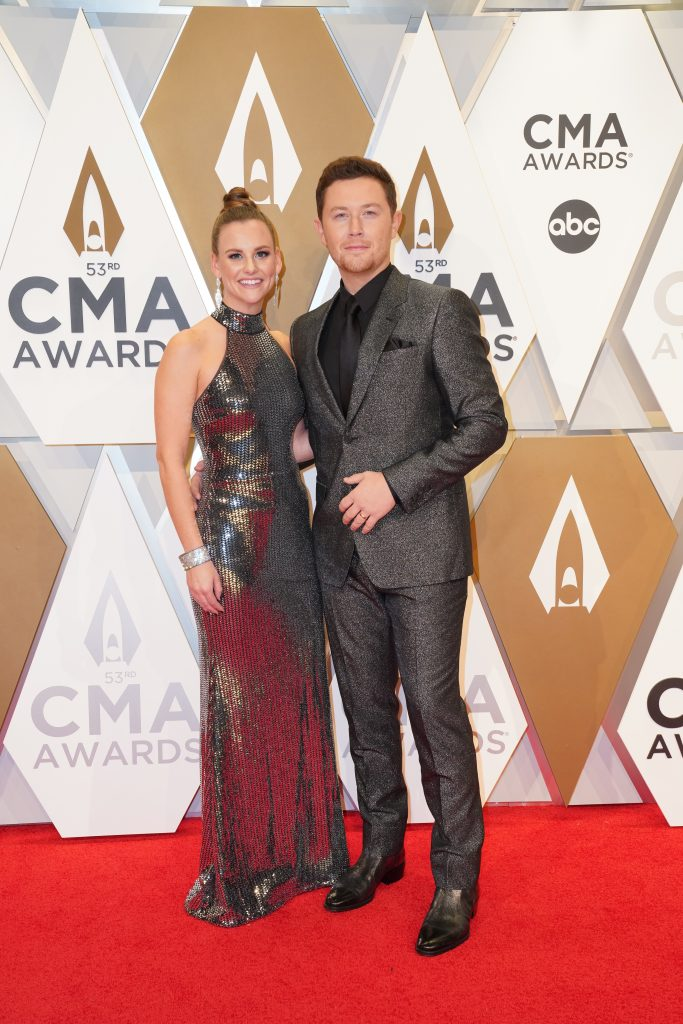 "Scotty McCreery on the Red Carpet at ""The 53rd Annual CMA Awards,"" on Wednesday, November 13, 2019 at Bridgestone Arena in Downtown Nashville; Photo courtesy of CMA"