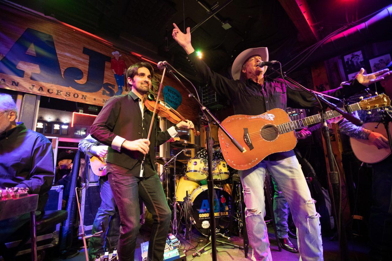 Alan Jackson Plays Secret 'Good Time' Set at Nashville Honky Tonk