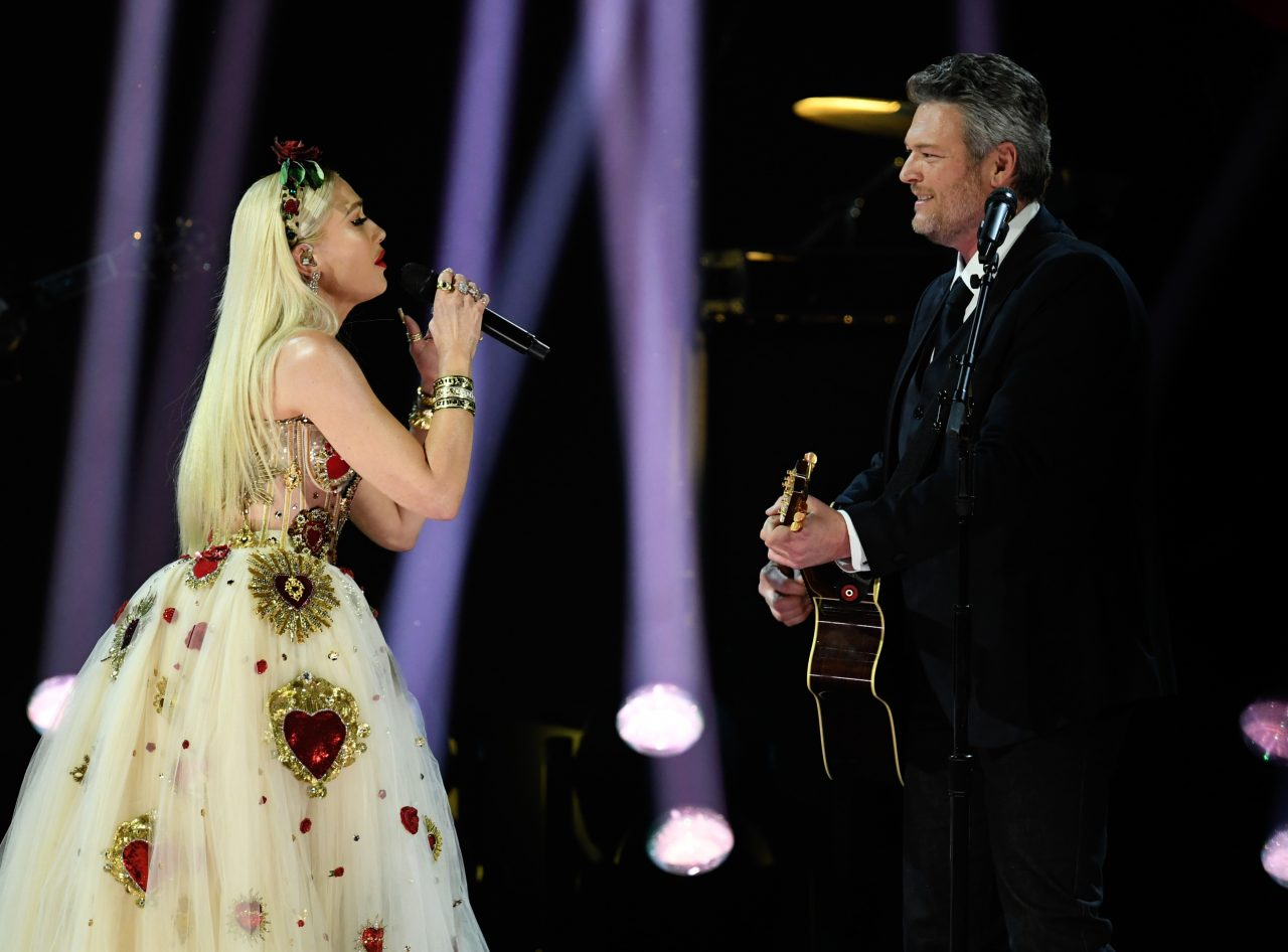 Blake Shelton and Gwen Stefani Bring Passionate 'Nobody But You' to 2020 Grammys