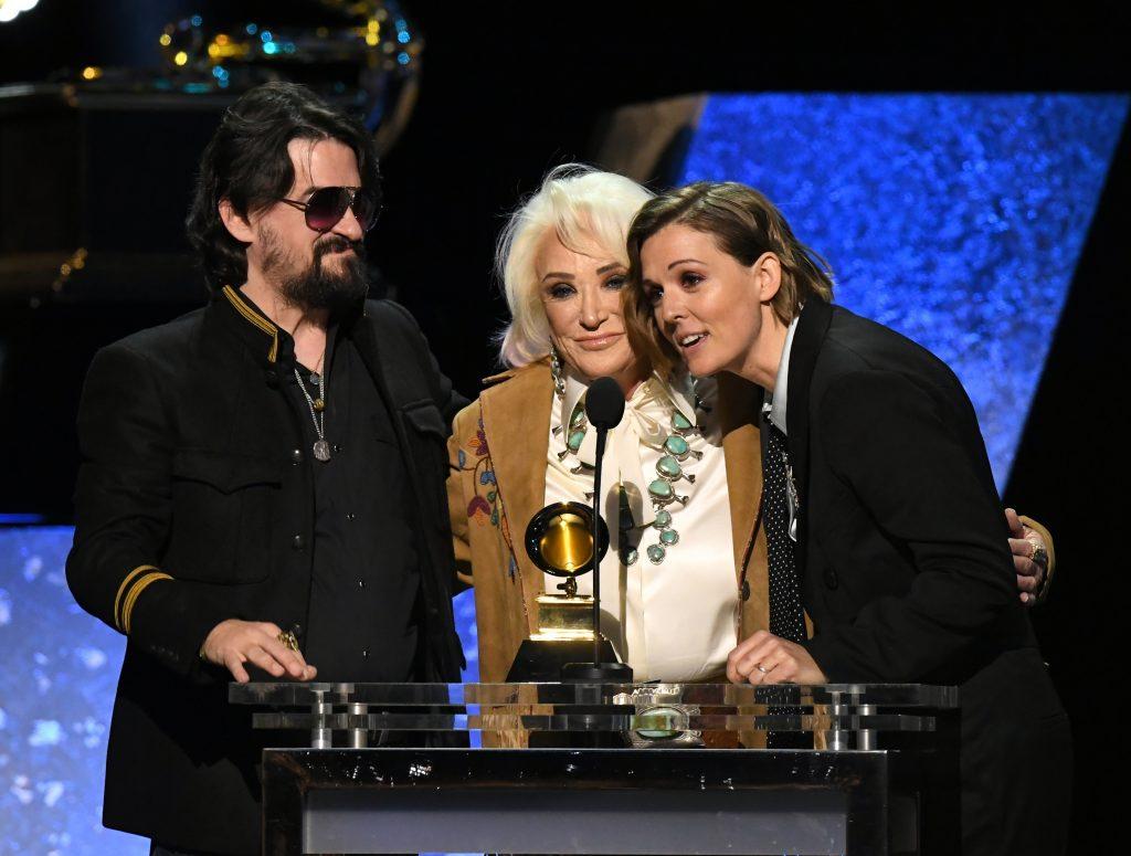 grammy awards winners brandi carlile tanya tucker and shooter jennings