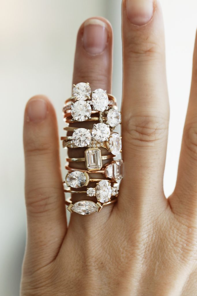 Engagement Rings; Courtesy of Consider The Wldflwrs