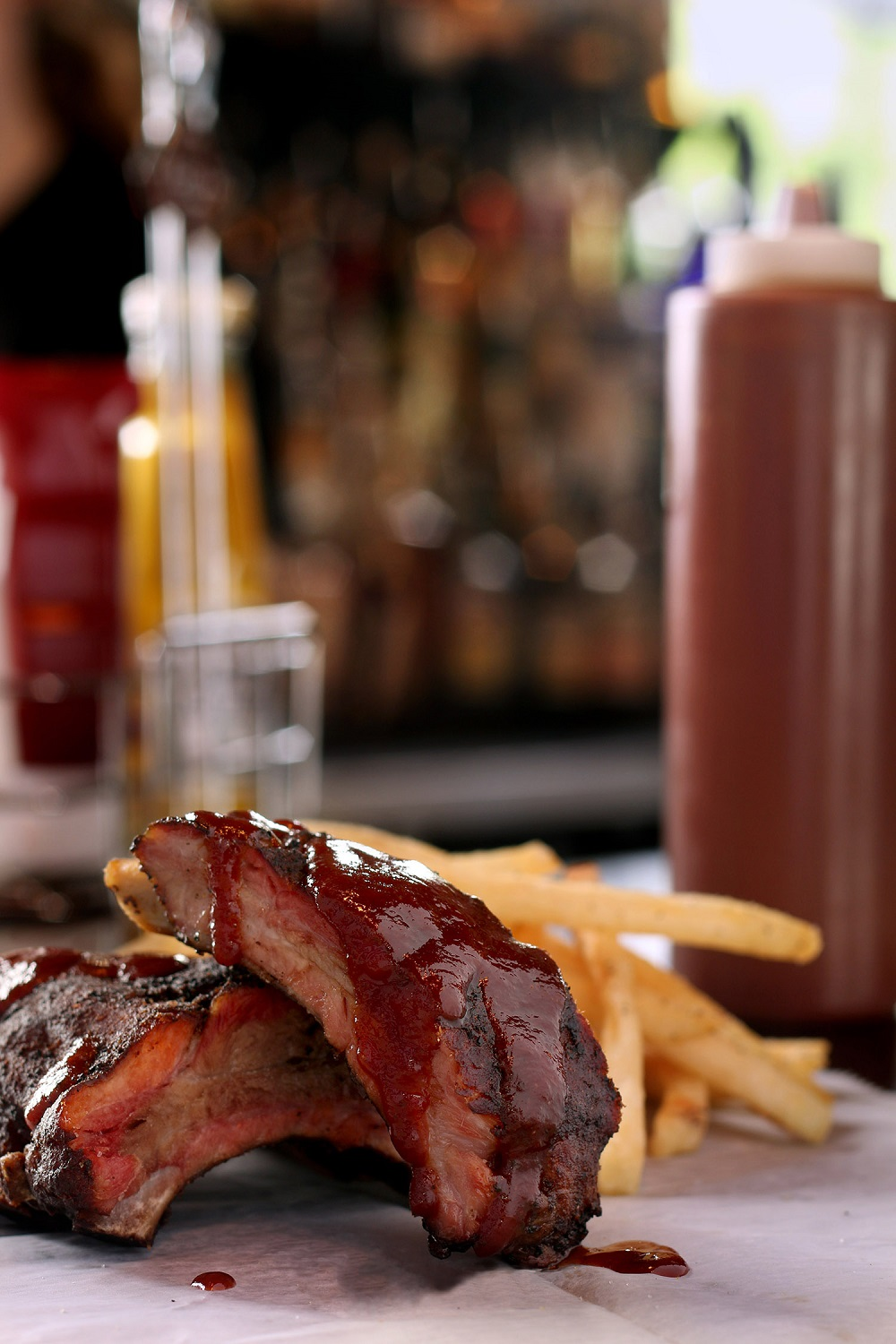 Ribs; Photo courtesy of Drifters Tennessee BBQ Joint