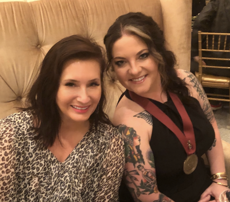 Ebie McFarland and Ashley McBryde; Photo credit: Beverly Keel