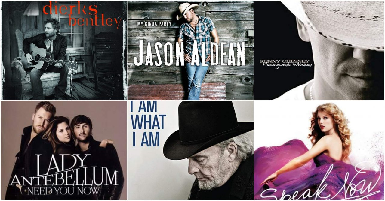 Ten from 2010: Country Albums That Rocked the Decade